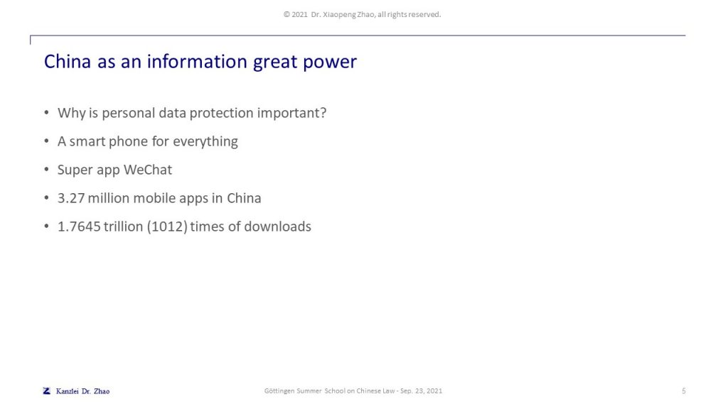 China as an information great power